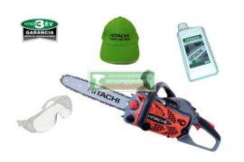 Hitachi CS33EA Benzinmotoros láncfűrész 35cm / 1,6LE + Ajándék védőszemüveg+1l láncolaj+Hitachi baseball sapka
