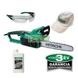 Hitachi CS 35SB elektromos láncfűrész+ajándék láncfűrészolaj+ vedőszemüveg+baseball sapka