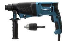 Makita HR2630X7 SDS-Plus fúró-vésőkalapács+tokmany adapterrel