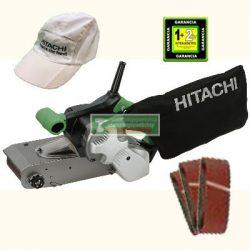 Hitachi SB10S2 szalagcsiszoló+ajándék csiszolószalag-csomag (3db-os)+hitachi baseball sapka