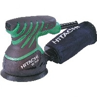 Hitachi SV13YB excentercsiszoló+csiszolópapír-csomag +Ajándék védőkesztyű