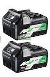 HiKOKI-Hitachi BSL36A18 MultiVolt Li-Ion akkumulátor csomag 2db( 36V-2.5Ah / 18V-5.0Ah)