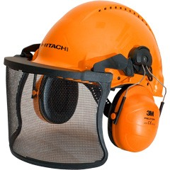 HITACHI 713511 Erdészeti fejvédő