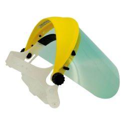 Fejpántos plexi arcvédő +ajándék rács***