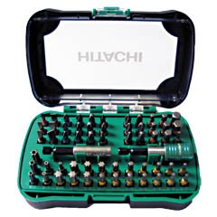 HITACHI 60 db-os csavarozó készlet