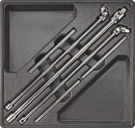 Neo univerzális T nyelű kulcs készlet 6 részes