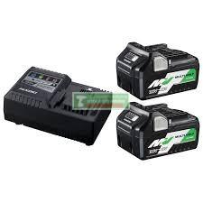 HiKOKI-Hitachi BSL36A18 MultiVolt Li-Ion akkumulátor csomag 2db( 36V-2.5Ah / 18V-5.0Ah)+gyorstöltő+HITBOX***
