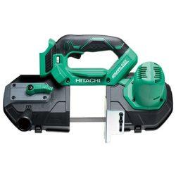 HiKOKI-Hitachi CB18DBL-BASIC Akkumulátoros szalagfűrész akku es tőltö nélkül+Ajándék Vadászkés+ fúró-vágó spray