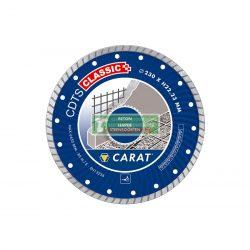 CARAT CDTSC12530 Gyémánttárcsa betonhoz 125 x 22,23