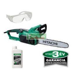 Hitachi CS30SB elektromos láncfűrész+ajándék láncfűrészolaj 1l+ védőszemüveg