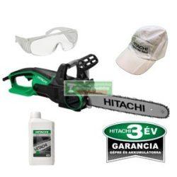 HiKOKI- Hitachi CS40Y elektromos láncfűrész + AJÁNDÉK Hitachi lánckenő olaj 1 liter +védőszemüveg