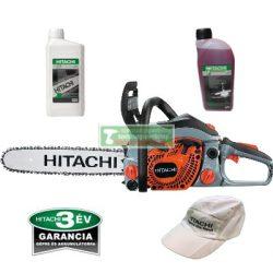 HiKOKI-Hitachi CS51EAP Benzinmotoros láncfűrész (45cm /3.4 LE) +Ajandek lancolaj 1l +2T motorolaj 1dl