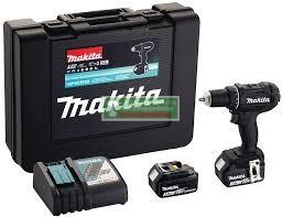 Makita DDF482RFEB Akkus fúró-csavarbehajtó (18V/2x3.0Ah) kofferben+bit klt