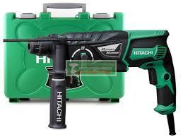 Hitachi-HiKOKI DH26PC2 fúró-vésőkalapács+Koffer+ajandék tokmany+ adapter