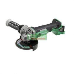 HiKOKI-Hitachi G18DBBVL -BASIC  Fordulatszám szabályozós, szénkefementes sarokcsiszoló 125mm( akku és töltő nélkül)+védőszemüveg+3db vágókorong