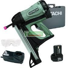 HiKOKI-Hitachi NC40G gázpatronos szögbelövő kofferbeN+ AJÁNDÉK 2db gázpatron+ 2000db szeg +védőszeműveg