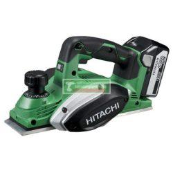 HiKOKI-Hitachi P18DSL-BASIC Akkus gyalu 82mm(akku és töltő nélkül)+ ajándék védőszemüveg***