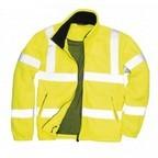 F300 - Jól láthatósági polár pulóver-Sárga