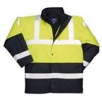 S466 - Kontraszt Traffic kabát - sárga