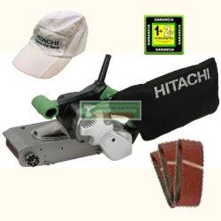 HiKOKI-Hitachi SB10S2 szalagcsiszoló+ajándék csiszolószalag-csomag (3db-os)+hitachi baseball sapka***